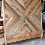 How To Build A Diy Reclaimed Wood Chevron West Elm Alexa Bed