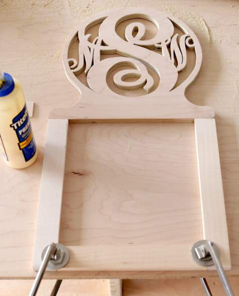 How to build a DIY PB Teen-inspired Monogram Jewelry Wall Organizer