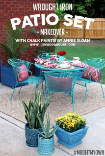 Paint Patio Furniture With Chalk