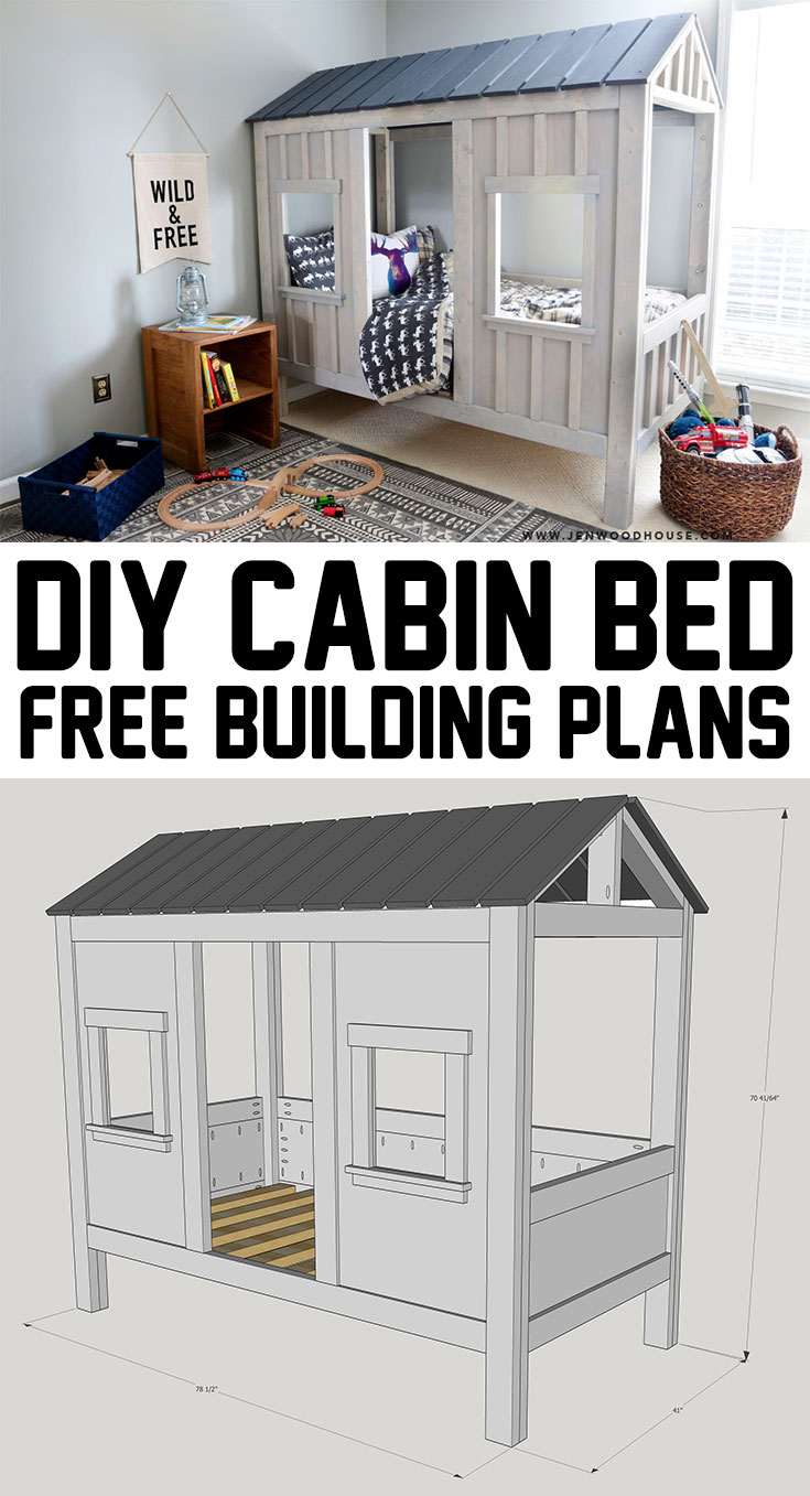 DIY Cabin Bed The House Of Wood