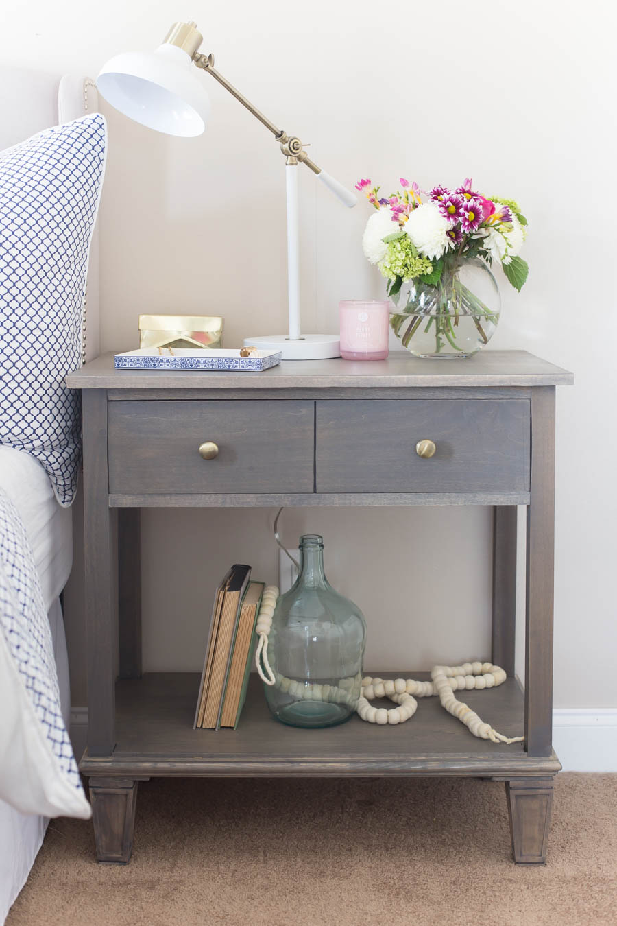 Diy Pottery Barn Inspired Sausalito Bedside Table