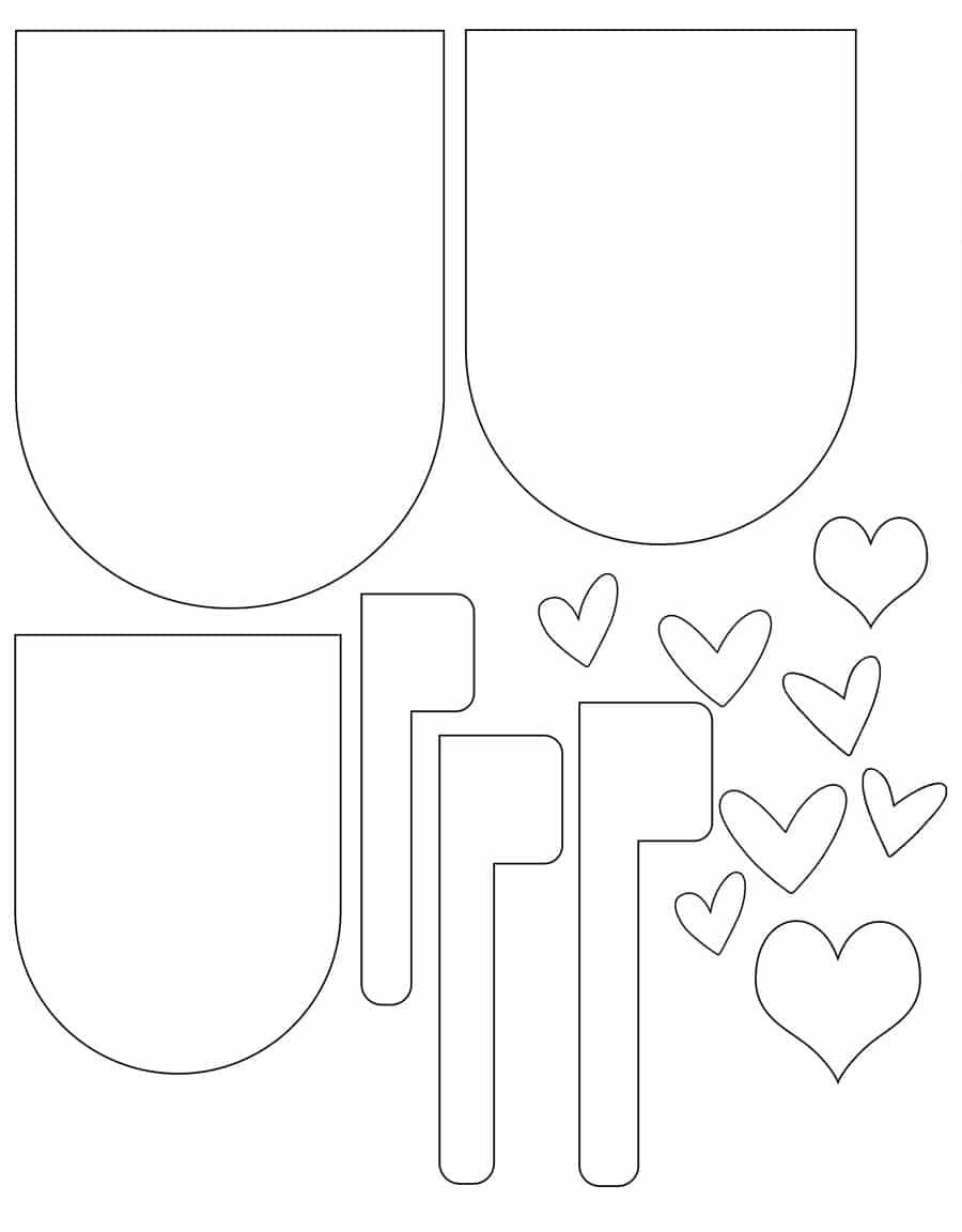 Valentines-mailbox-shape-template