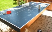 Diy Collapsible Ping Pong Table - Diy (Do It Your Self)