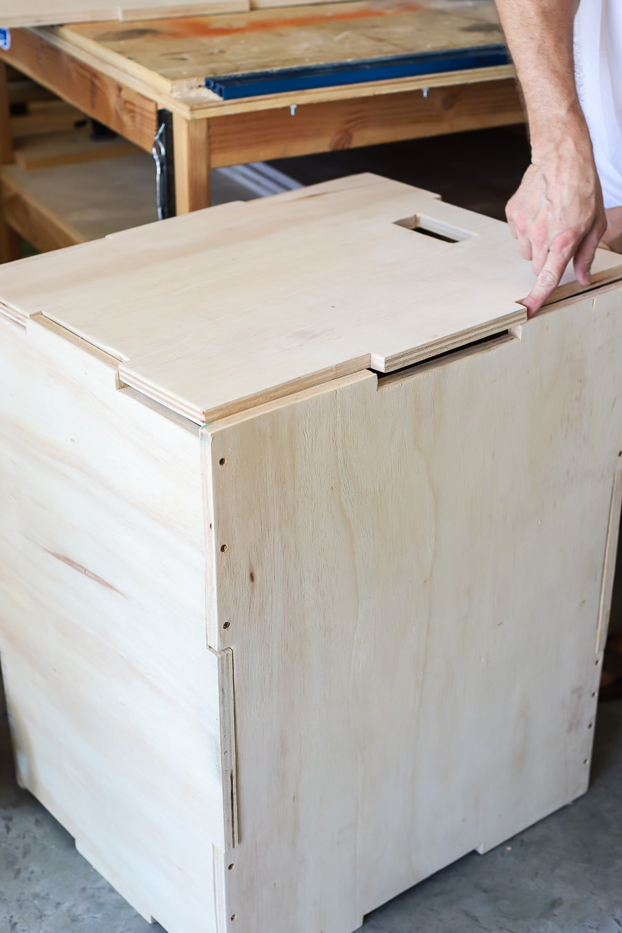 Build a DIY 3-in-1 Plyometric Box for Box Jump Exercises