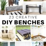 23 Creative Diy Bench Plans And Ideas The House Of Wood