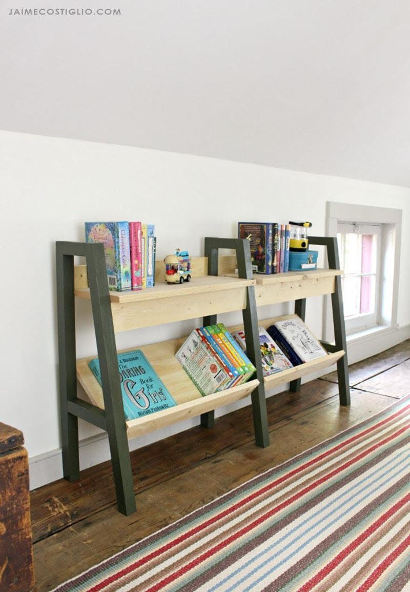 20 Amazing Diy Bookshelf Plans And Ideas The House Of Wood