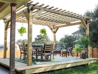 How To Build A DIY Pergola with Simpson Strong-Tie Outdoor ...