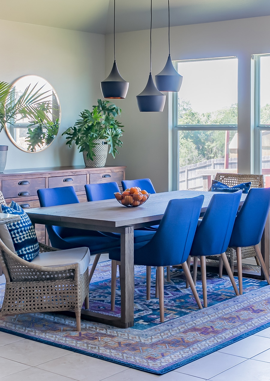 Blue Dining Chairs How To Choose Dining Chairs For Your Dining Table