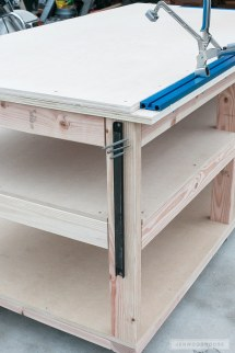 Build a Mobile Workbench with Shelves