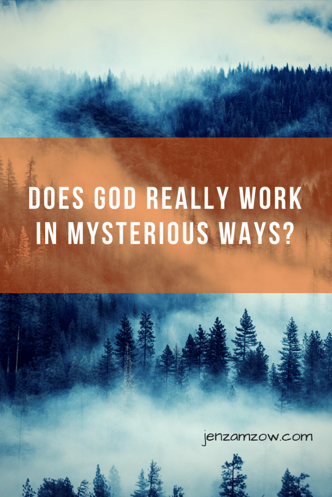 Does God really work in mysterious ways? An honest conversation about faith and doubt #faith #Christianliving #spiritualgrowth