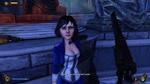 Elizabeth is one of the best companions in video games. Ever.