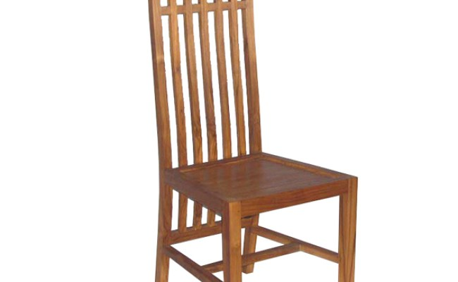 Balero Dining Chair Teak Minimalist By Jepara Craftsman At