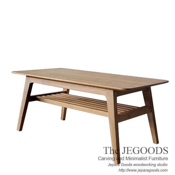 Indonesia Teak Coffee Table: Skandin Kaku Retro Coffee Table Furniture Jepara