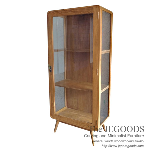 Lemari Sherina Retro Display Cabinet