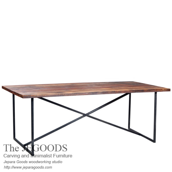 Rustic X Dining Table