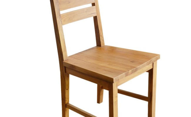 Teak Minimalist Chair Seat Jepara Furniture Manufacturer
