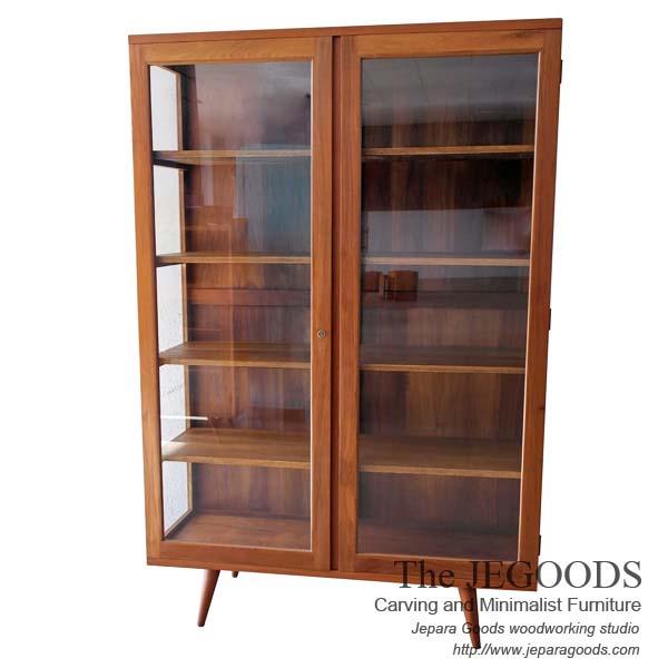 Skandin Jengki Premier Display Cabinet