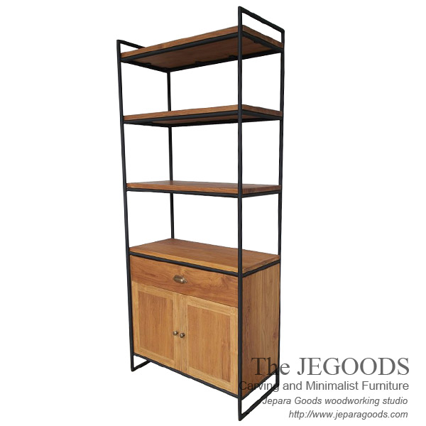 Industrial Cabinet Rack 3 Shelves
