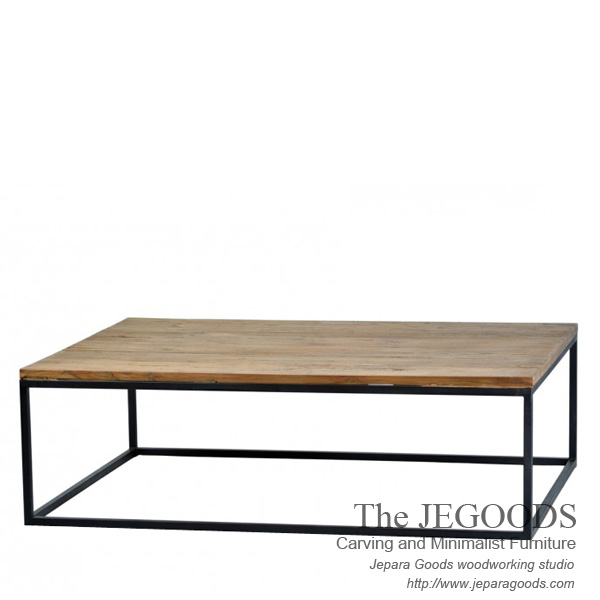 Segi Panjang Besi Coffee Table Industrial