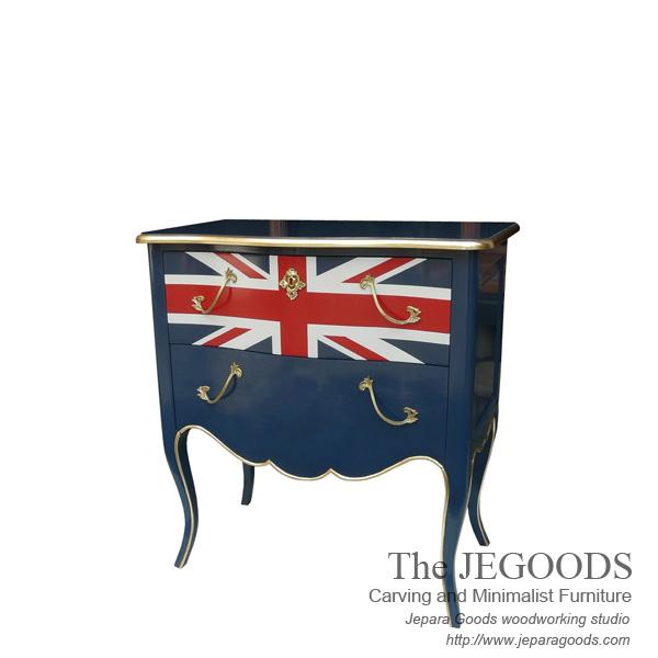 The Union Jack Nightstand