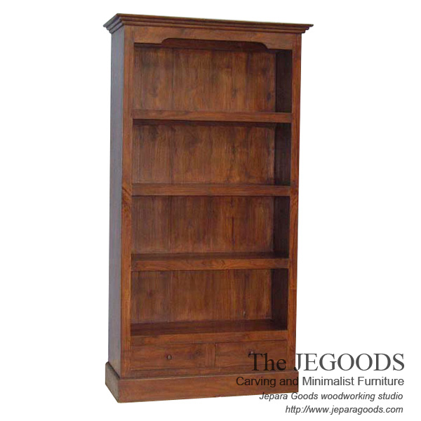Colonial Bookcase Classic Contemporary