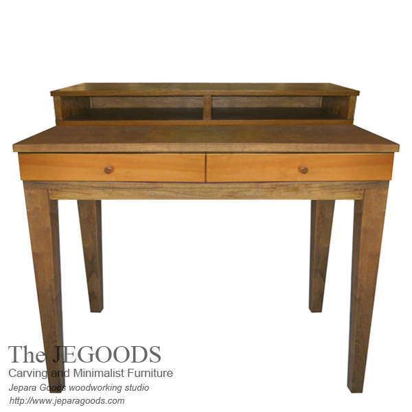 Pop Writing Desk 2 Drawers 2 Spaces