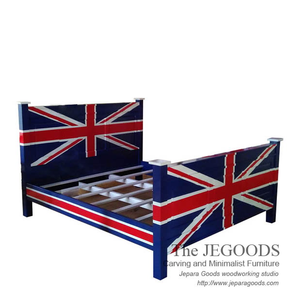 The Union Jack Bed