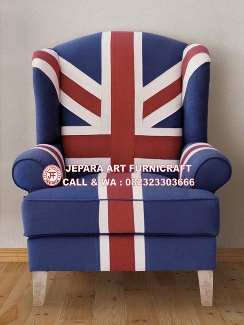 STOP  Miliki Segera Sofa Tamu Union Jack Wallace