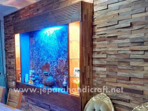 Paling Exclusive Wall Decor Dinding Kayu Jati Antik Murah