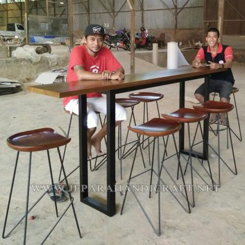 MEJA KURSI CAFE RESTORAN JATI  Minimalis Terbaru Harga Murah