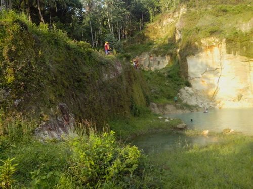 tempat wisata danau di blingoh