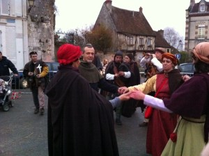 About the perform some medieval jig