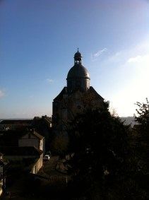 And, yes, one more view of La Collégiale Saint-Quiriace (Unfortunately, it was closed and we couldn't go inside.)