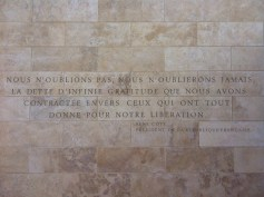"""""""We do not forget, we will never forget, the debt of infinite gratitude that we have contacted towards those who gave all for our liberation."""" — René Coty, President of the French Republic"""