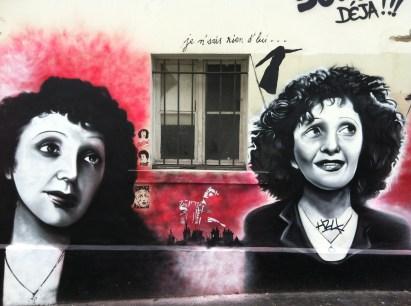 an homage to Edith Piaf