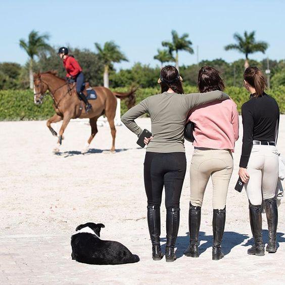 Equitation sport de fille
