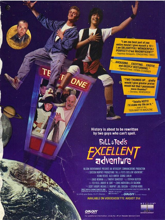 L'excellente Aventure De Bill Et Ted : l'excellente, aventure, L'Excellente, Aventure, Destin, L'humanité, Repose, Exposé, D'histoire