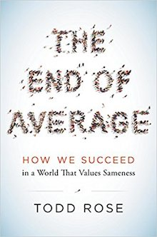 Photo cover of The End of Average by Todd Rose