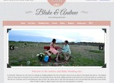 Andrew & Blake Wedding Website