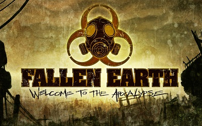 Logo for the defunct MMO Fallen Earth