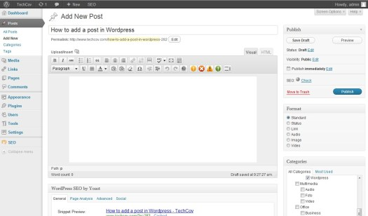how-to-add-a-post-in-wordpress