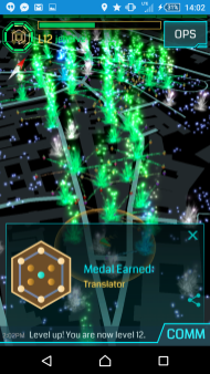 Ingress Level 12