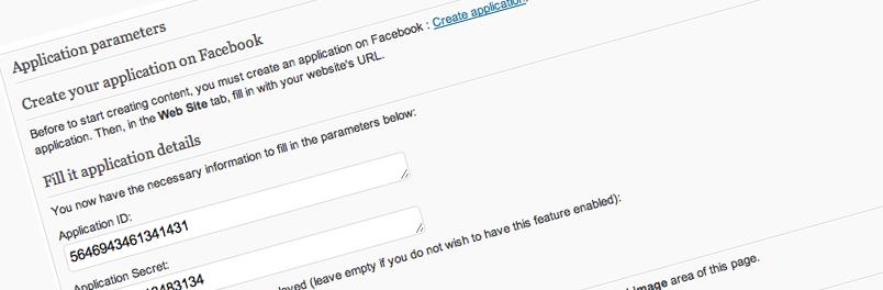 Créez une application iFrame grâce au plugin WordPress Facebook applications