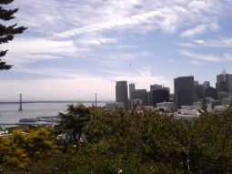View from Coit Tower, San Francisco