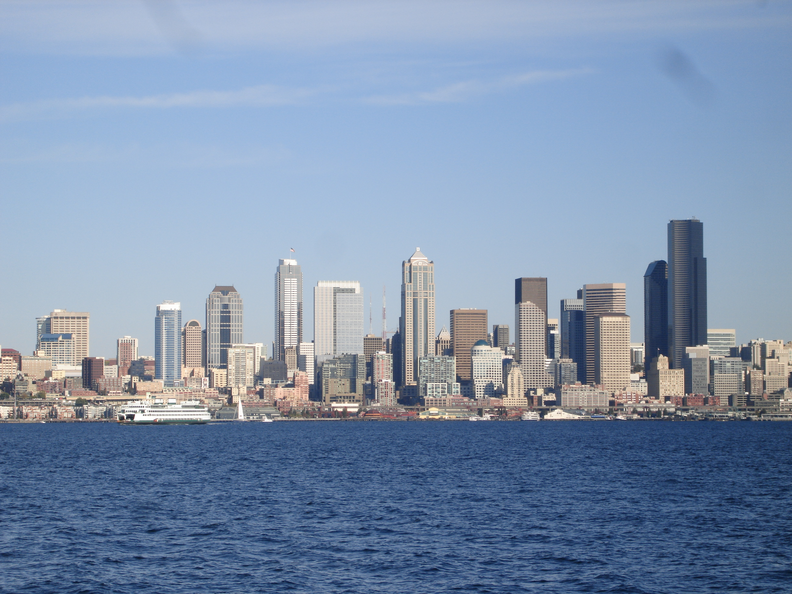 View from Alki