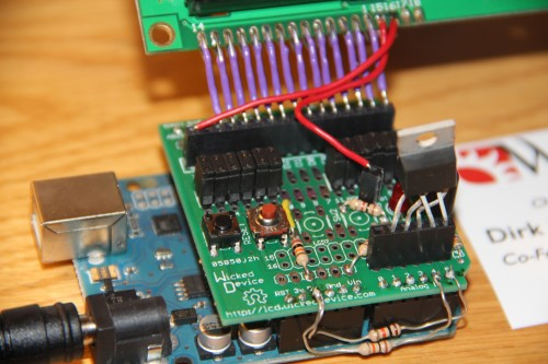 WickedDevice LCD Display Shield