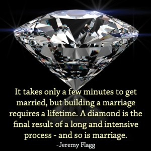 Jeremy Flagg - Diamond Marriage Quote