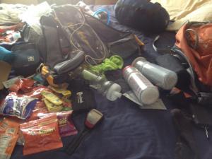 gear for King's Peak Attempt