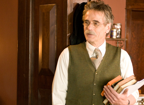 "Jeremy Irons as Alfred Stieglitz in ""Georgia O'Keeffe"""