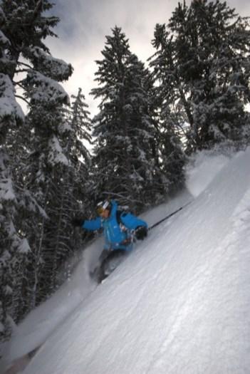 Ski Freeride à La Clusaz